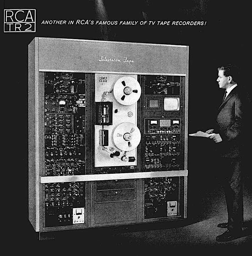 broadcast tv tape recorder advertisement 1963