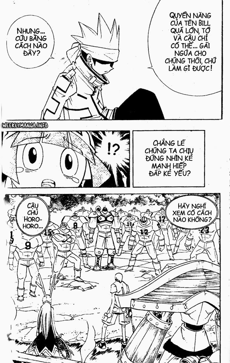 Shaman King [Vua pháp thuật] chap 182 trang 10
