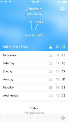 Pocket%2BWeather%2BAU%2BiOS%2BUpdat Pocket Climate AU for iOS Will get Disappointing Remodel Plus Apple Watch App iOs