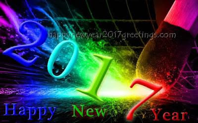 {Happy} New Year 2017 Greetings Ecards
