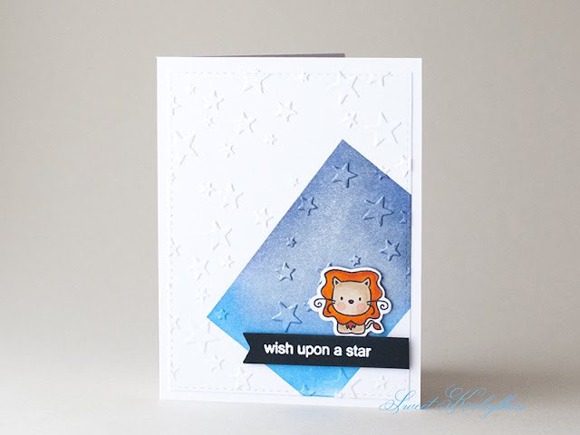Birthday Card with Cosmic Stars from Mama Elephant by Sweet Kobylkin
