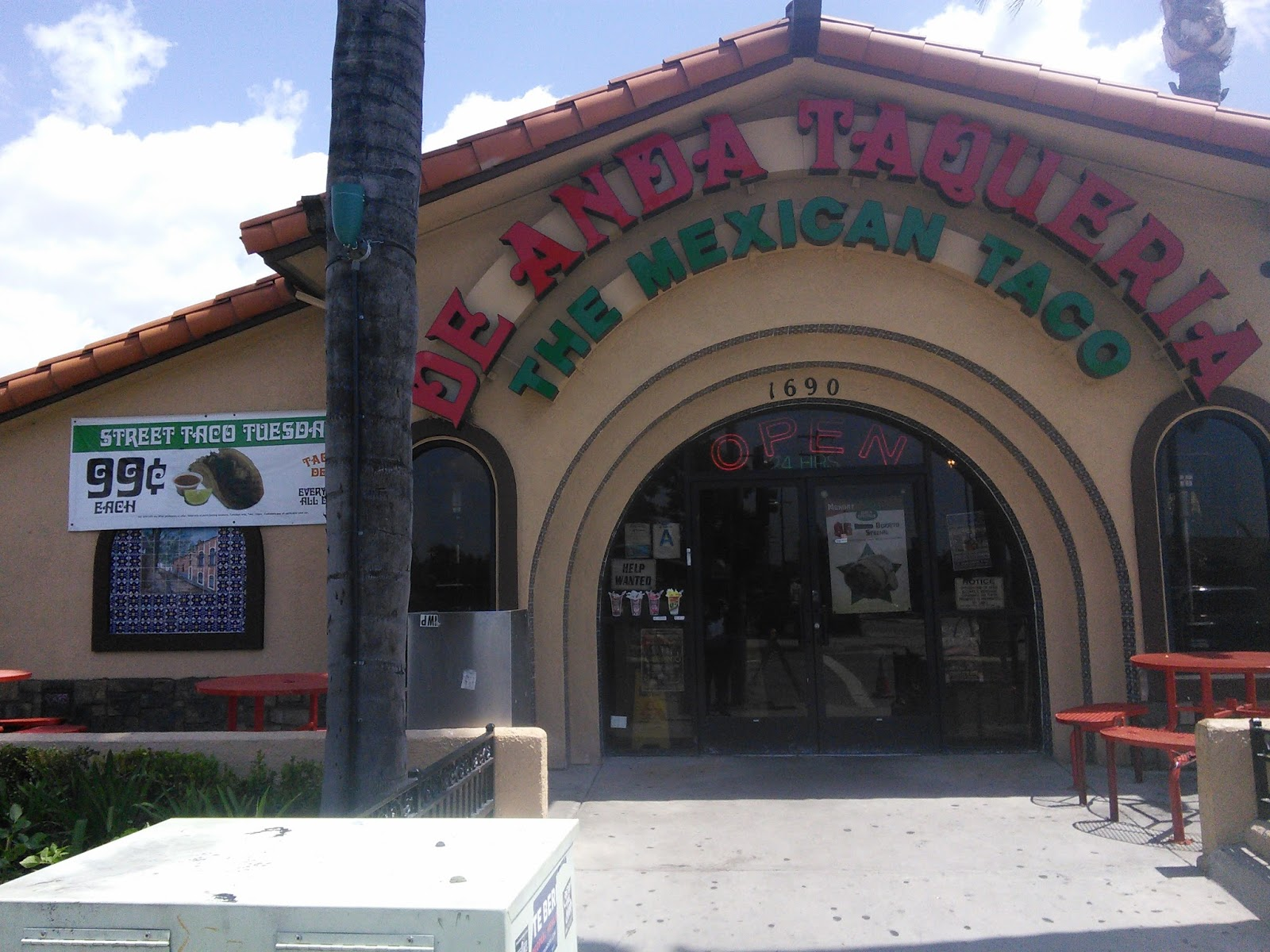 Drive Thru Mexican Food Anaheim