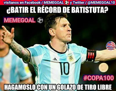 memes copa america argentina estados unidos messi golazo tiro libre