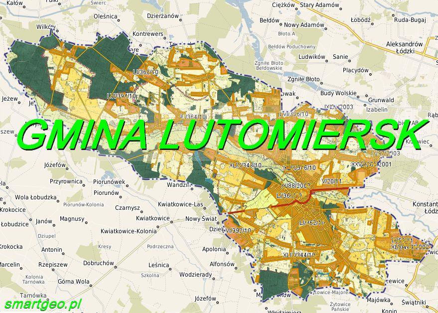 Geoportal Gminy Lutomiersk