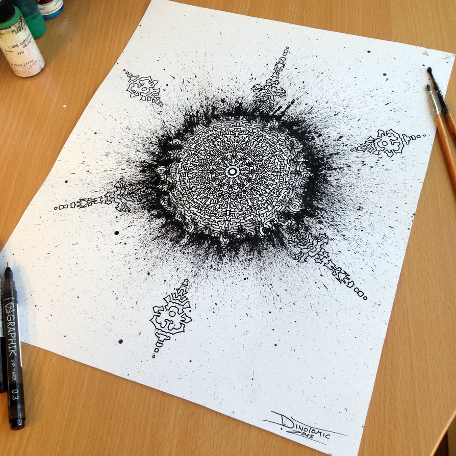 23-Mandala-and-Splatter-Dino-Tomic-AtomiccircuS-Drawing-Painting-Tips-and-Digital-Art-www-designstack-co