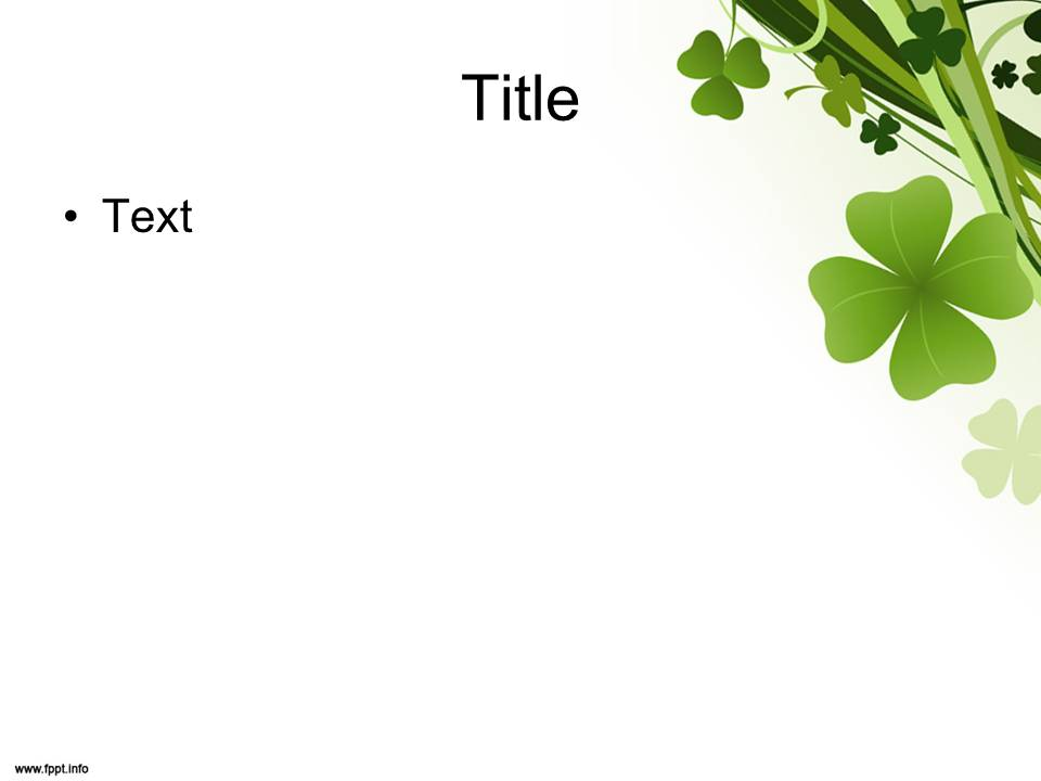 Free Download St Patrick\u0027s Day PowerPoint Templates - Everything