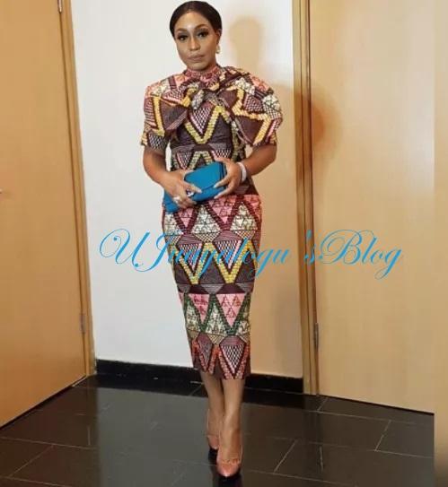 Actress, Rita Dominic Looks Dapper In Beautiful African Dress (Photos)