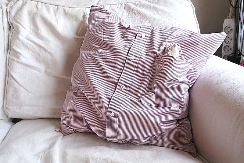 Favoriete Moois van ' M(i)e': van hemd naar kussen : tut KG88