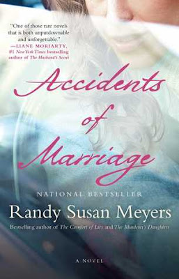 Accidents of marriage, randy susan meyers, fiction, review, book tour, blog tour, giveaway, TLC book tours, fuelled by fiction, fueled by fiction, books, book blog, review,