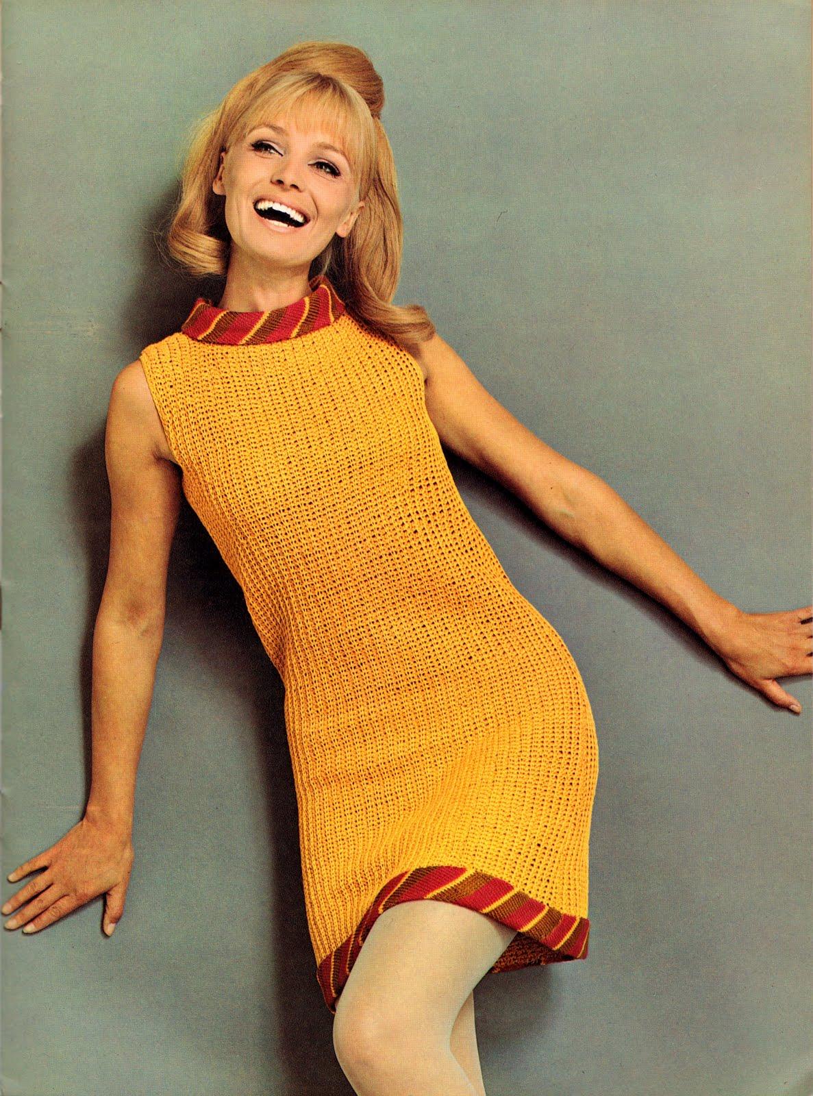 1960s magazine 70s spinnerin magazines 60s knitted 1960 retro dresses womens mini short skirt everyday clothing older 1970s pretty skirts