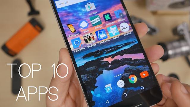 أفضل 10 تطبيقات اندرويد لهذا الشهر ( مايو 2016 ) Best Android Apps