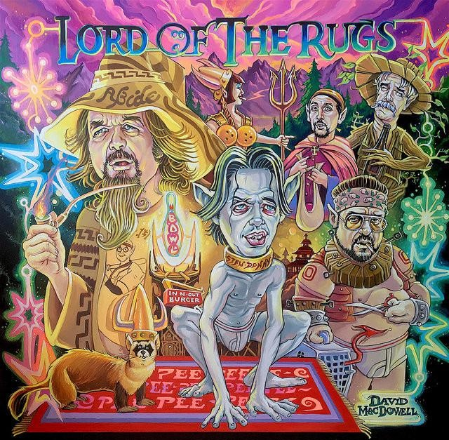 "Dave MacDowell ""Lord of the Rugs"""