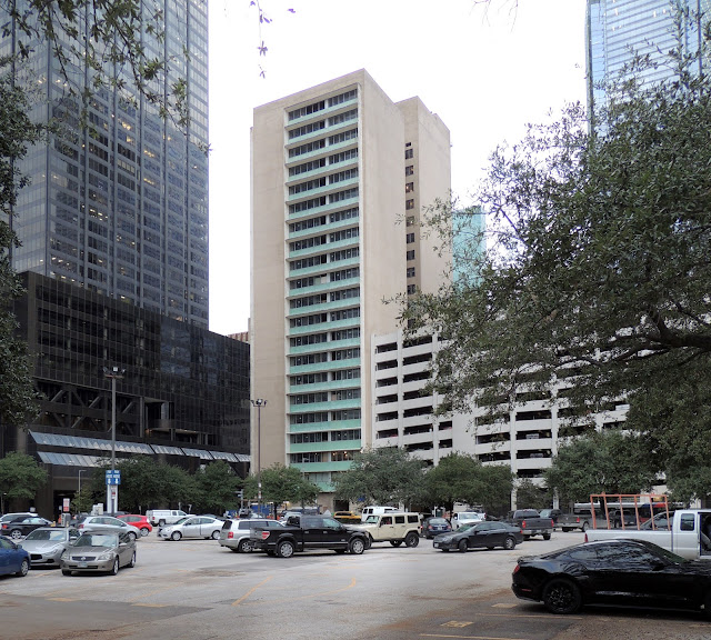 """East-facing facade of  office tower being redeveloped into """"Le Meridien"""""""