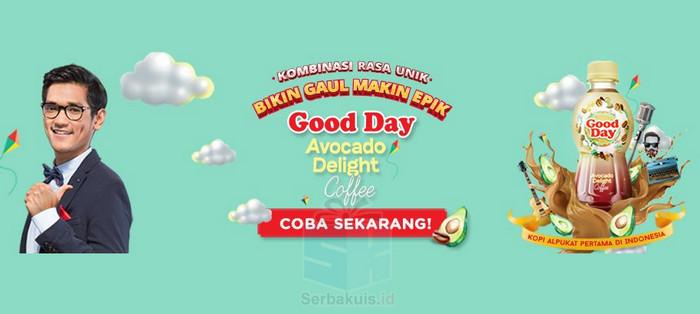 Sample Gratis Produk Good Day Avocado Delight Coffee