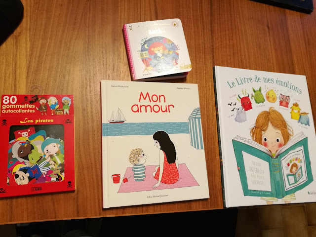 > Gommettes Les pirates  > Bach  > Mon amour  > Le livre de mes émotions