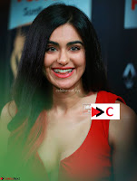 Adah Sharma in Red Deep Neck Spicy Gown ~  Exclusive 41.jpg