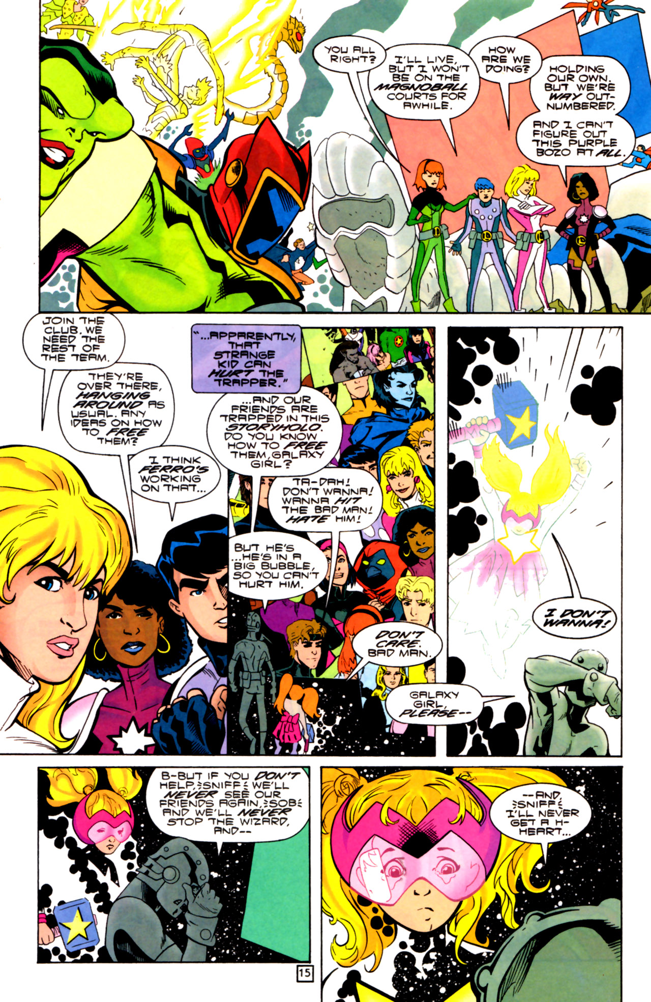 Legion of Super-Heroes (1989) 105 Page 14