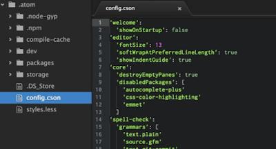 Atom - Text Editor Gratis Kualitas Terbaik