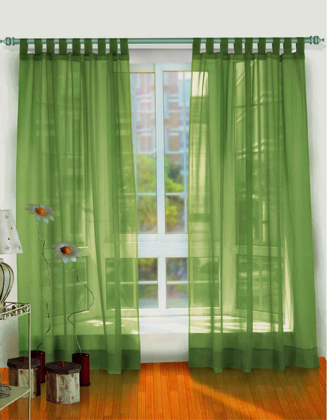 Modern furniture living room curtains ideas 2011 - Living room curtain ideas ...