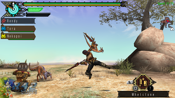 Monster Hunter Portable 3rd HD Ver PS3 ISO Screenshots #1