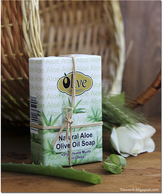 Olive Treasurea Natural Aloe Olive Oil Soap
