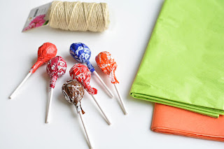 "Тыквочки из ""Чупа-чупсов"" - упаковка конфет на Хэллоуин (МК) http://handmade.parafraz.space/"