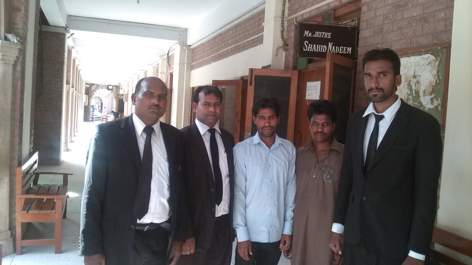 Sardar Mushtaq Gill,Human Rights Defender along with LEAD's legal  team and petitioner of FIA case.