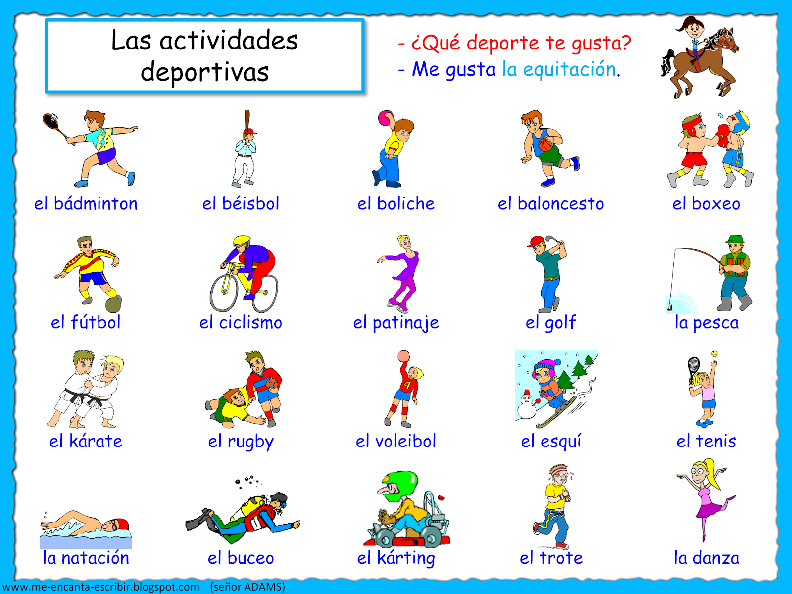 Deporte Hobbies And Tes