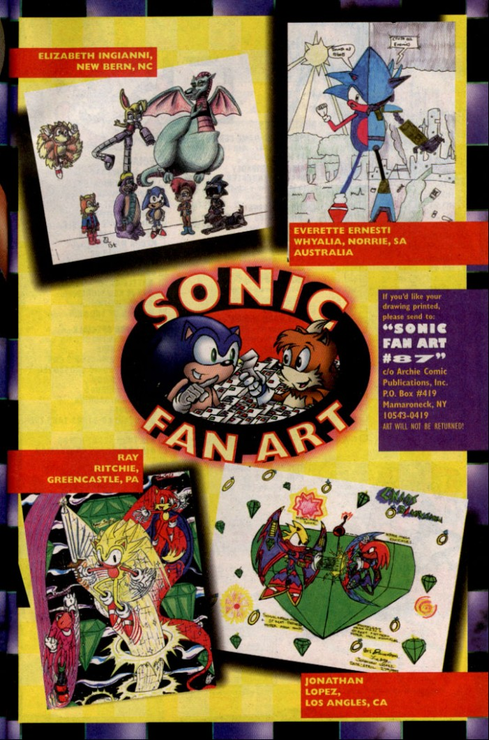 Read online Sonic The Hedgehog comic -  Issue #87 - 26