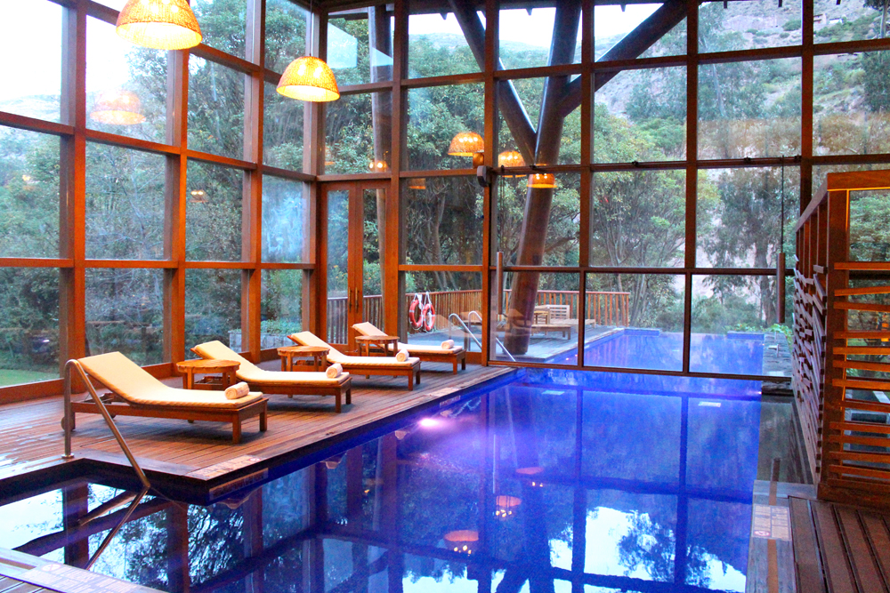 Pool at Tambo Del Inka, A Luxury Collection Resort & Spa, Valle Sagrado, Peru - travel blog