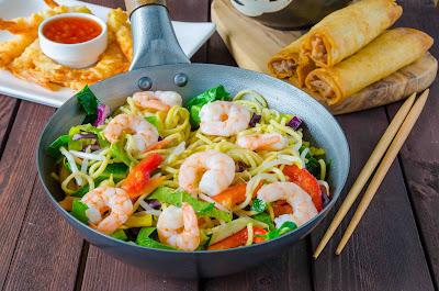 Singapore Food Fair - diverse gerechten