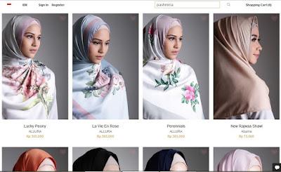 Pashmina Online Hijup.com