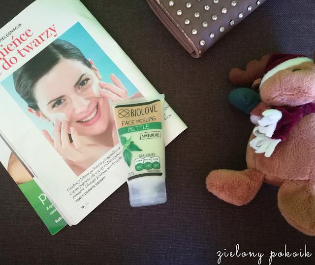 Kosmetycznie: Biolove - Peeling do twarzy pokrzywa