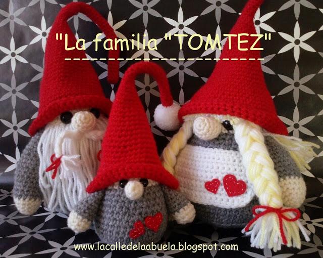 Christmas Gnomes Pattern.La Calle De La Abuela Little Fino A Free Amigurumi