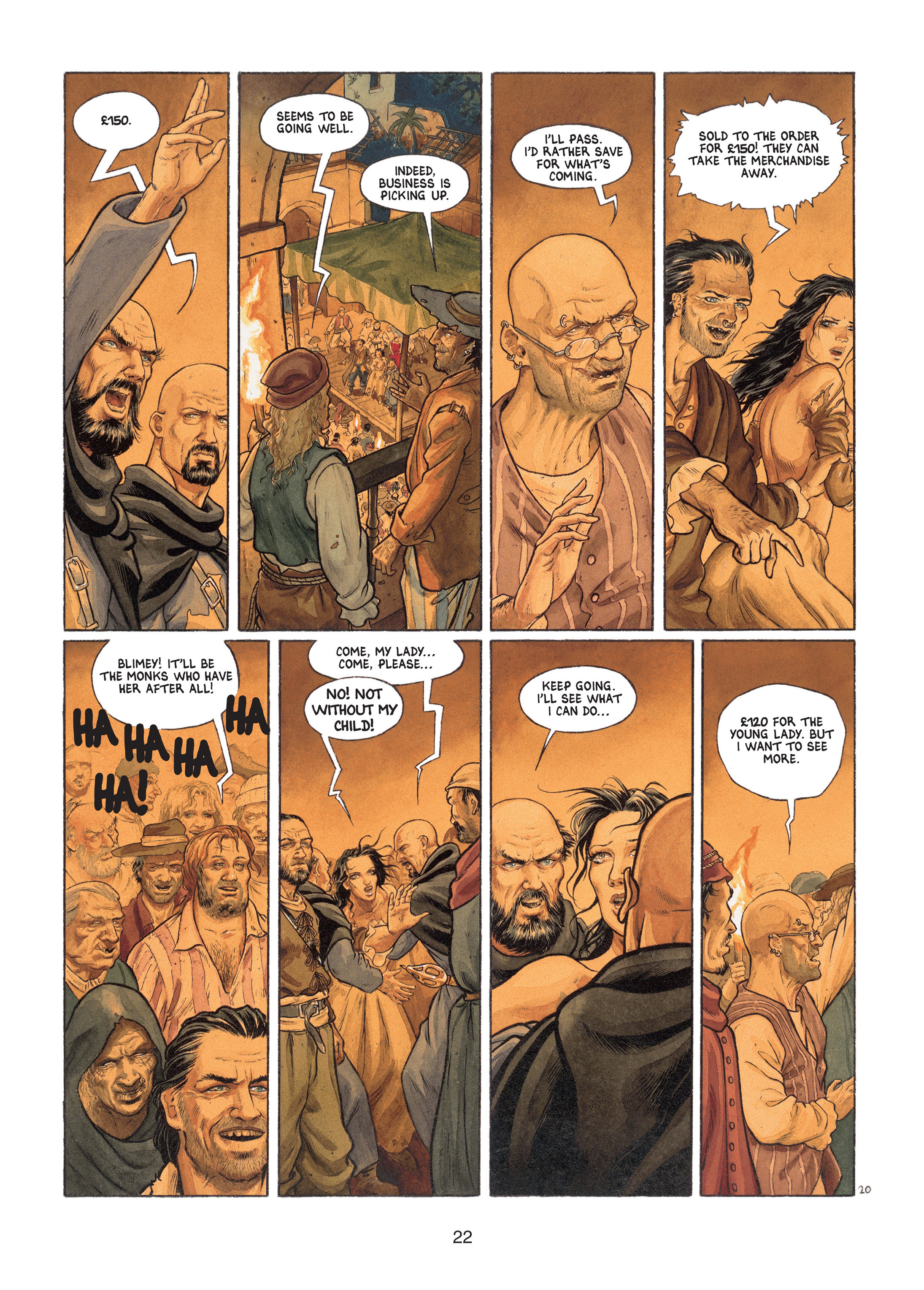 Read online Barracuda comic -  Issue #1 - 22