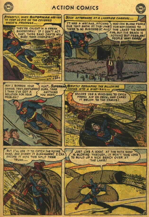 Read online Action Comics (1938) comic -  Issue #184 - 7
