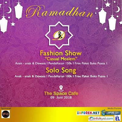 Ramadhan Fasihon Show 2018 By Makeup Bride Lampung