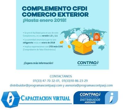 Programas contpaqi complemento cdfi de comercio exterior for Comercio exterior que es