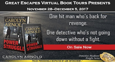 Bea' Book Nook, Excerpt, Giveaway, Power Struggle, Carolyn Arnold