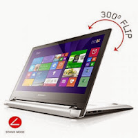 Amazon: Buy Lenovo Flex 2 59429522 Laptop with Bag (Red) at Rs. 38900 only