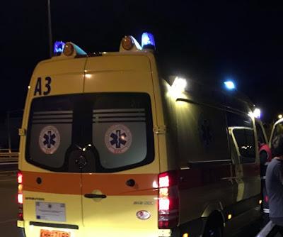 ΓΙΑΝΝΕΝΑ-Εκτροπή οχήματος στην διασταύρωση Σκλίβανης