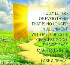 good morning quotes: i fully let go of everything that is no longer in alignment with my highest