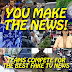 New Team Building Event: You Make The News! Moviemaking Corporate or Party Event