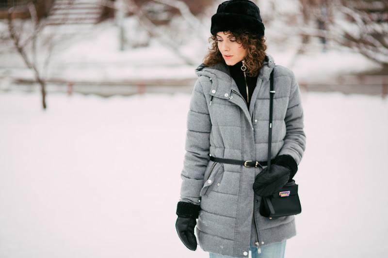 зимняя одежда в образе