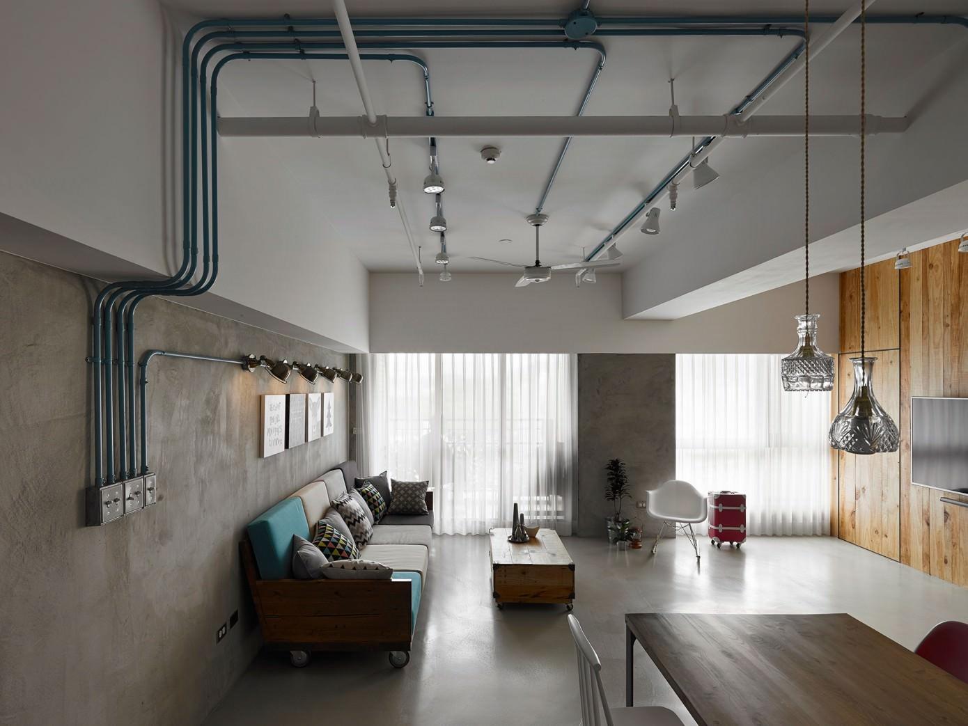 casa papel e tesoura decora o estilo industrial