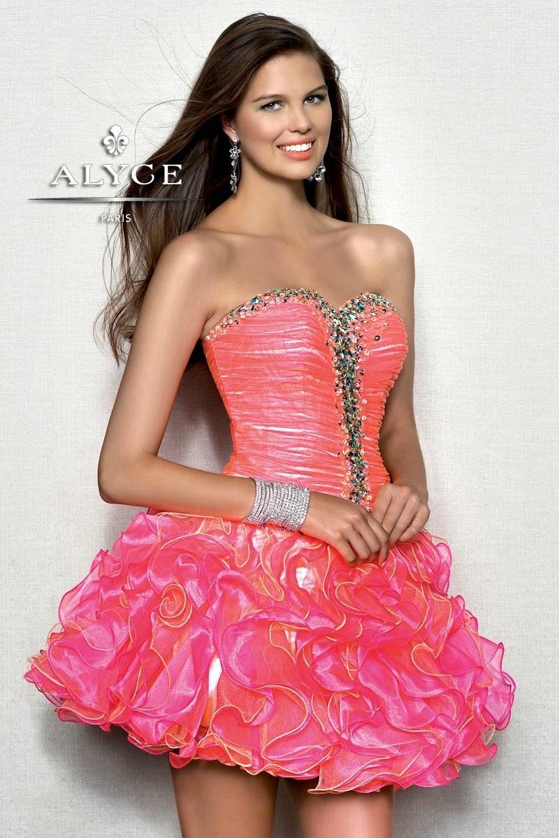 Asombrosos vestidos cortos de 15 años | Vestidos para fiesta de ...