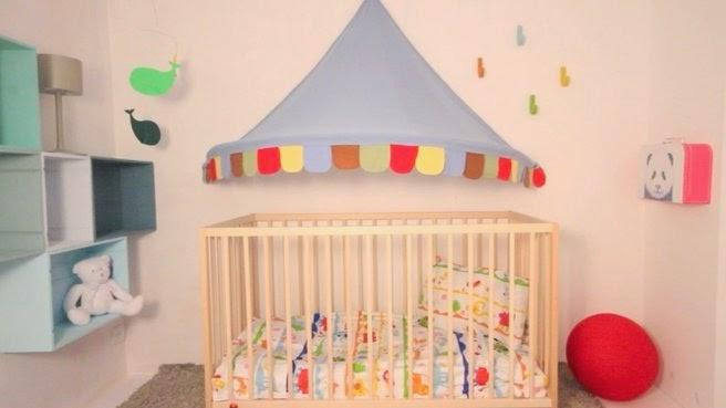 Cuarto bebé tema circo
