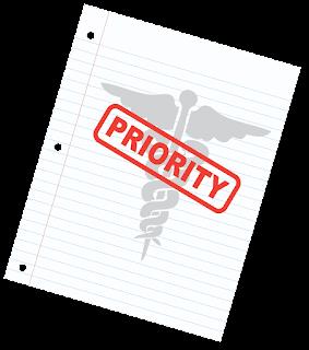 HIPAA priority