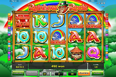 play rainbow reels free slot