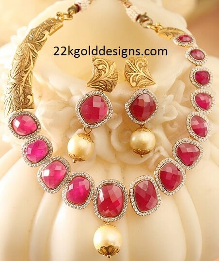 Stunning Ruby Necklace